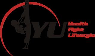 T-Shirt mit YU Logo Größe XL